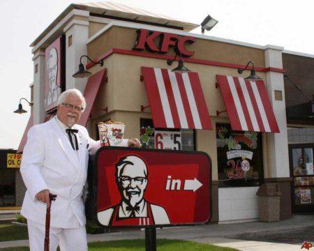 История KFC