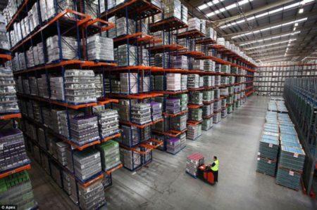 Основные правила хранения товара на складе