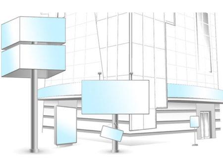 Типы и виды рекламных конструкций